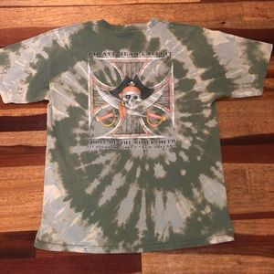 Bleach Dye T Shirt